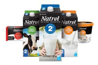 Natrel brand packs